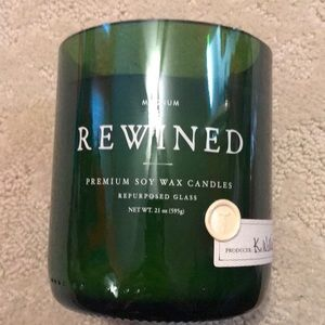 Other - Rewined soy wax candle large